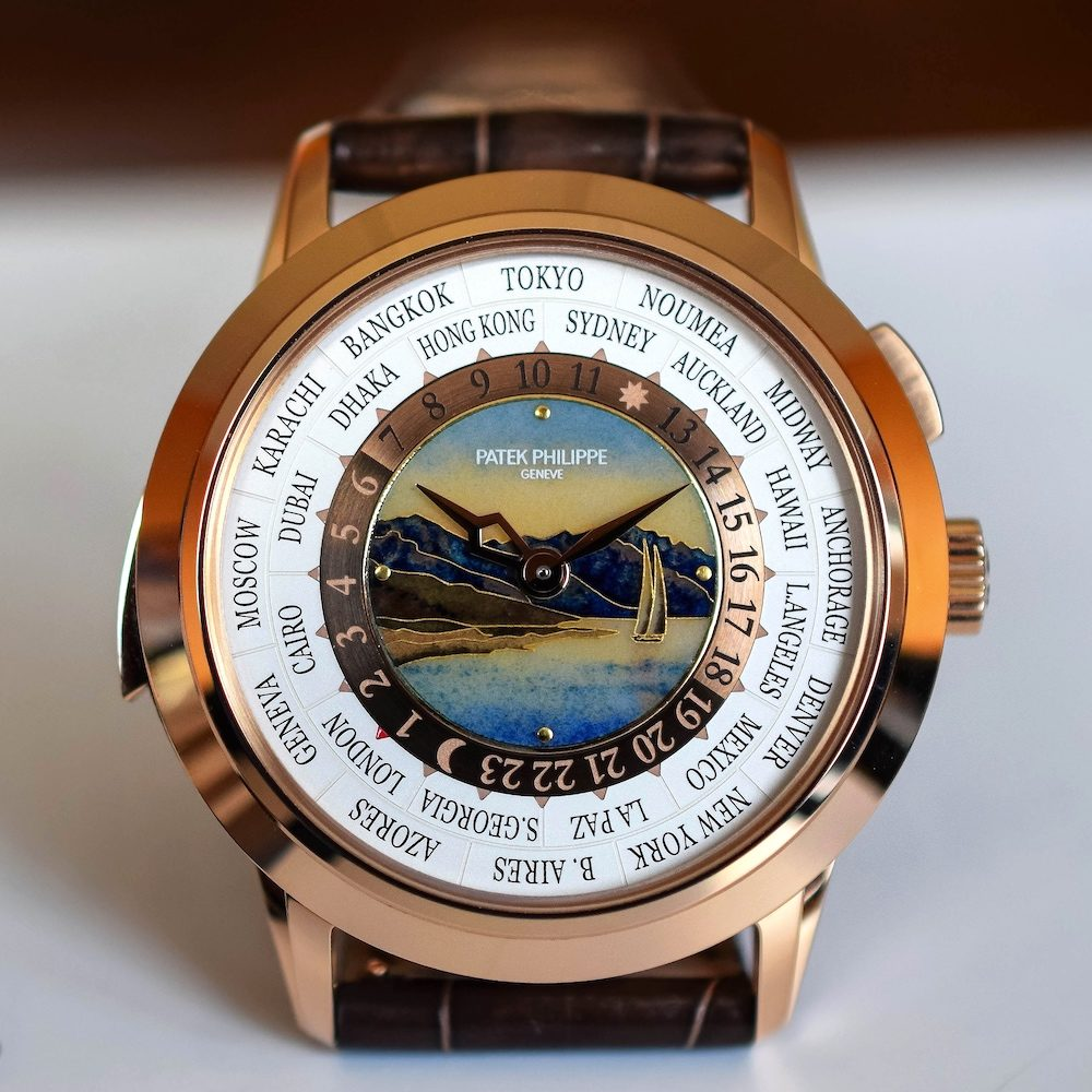 Patek Philippe World Time Minute Repeater Ref. 5513R-001