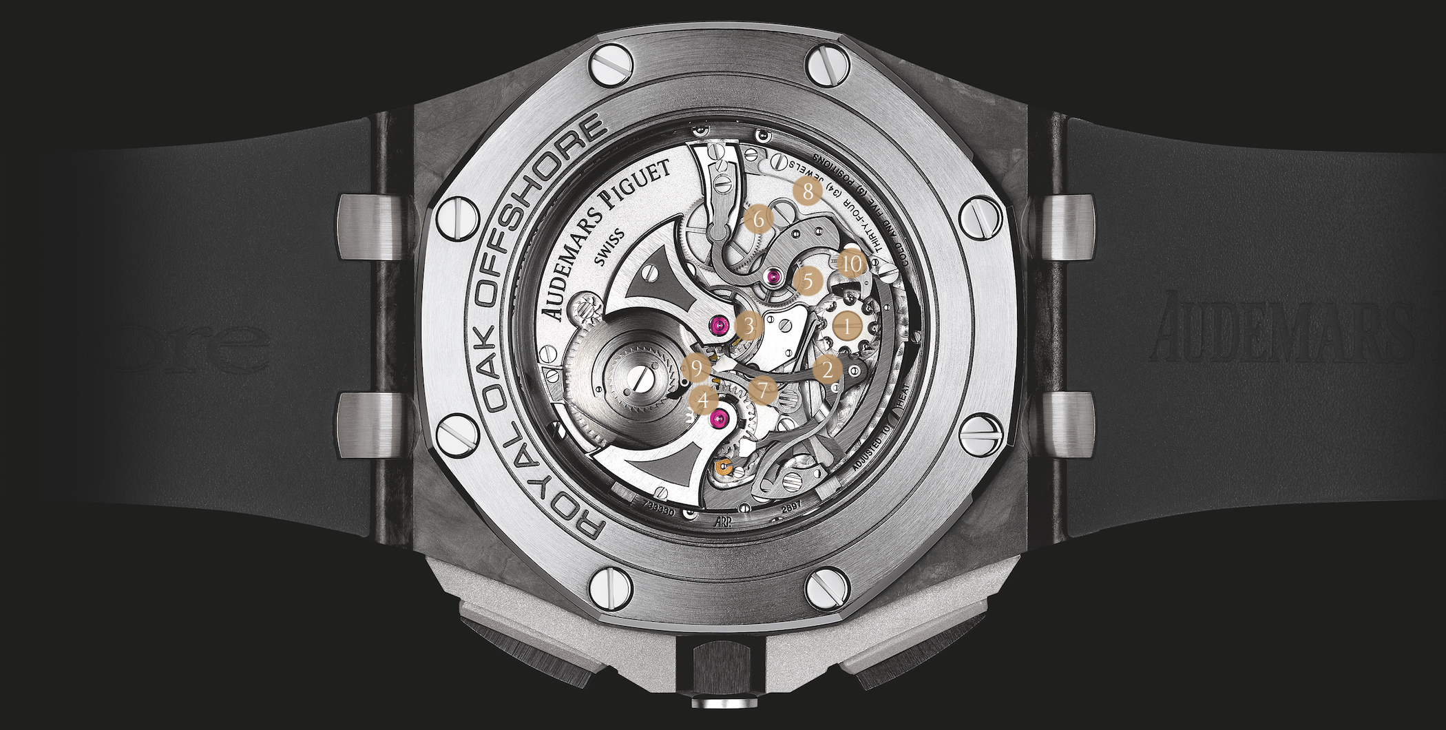 Audemars Piguet Royal Oak Offshore Ref. 26550AU, Calibre 2897