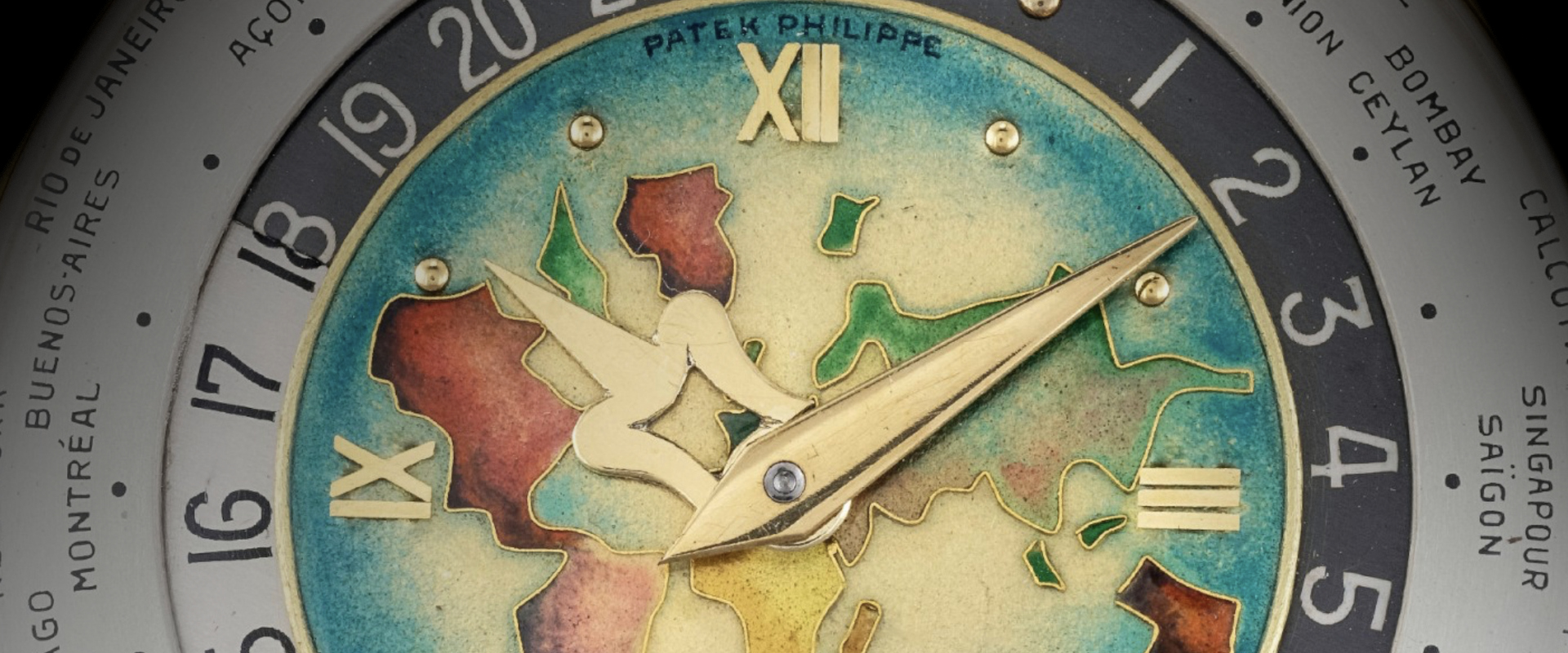 Patek Philippe World Time Ref. 605 HU