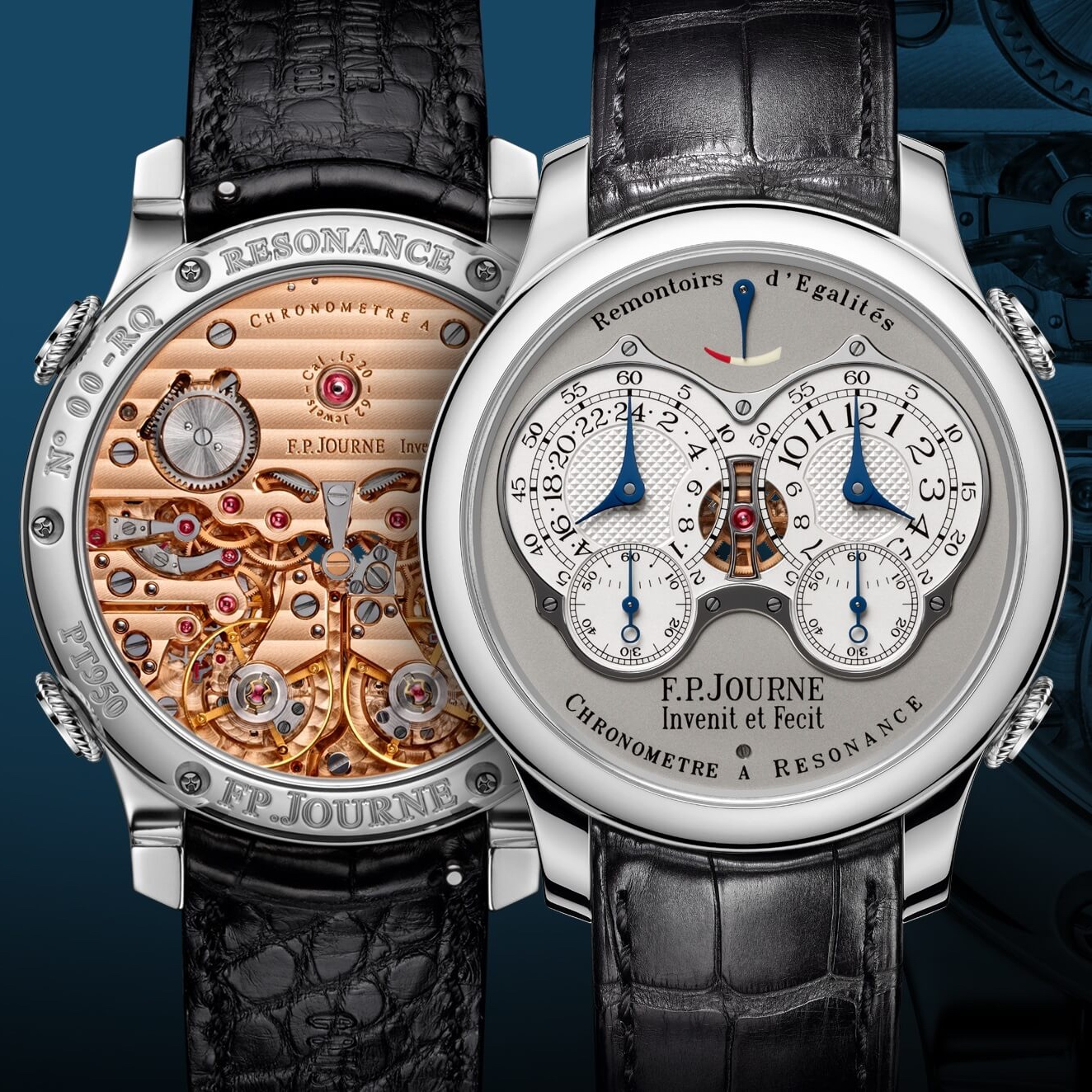 F.P. Journe: 20 lat Chronomètre à Résonance